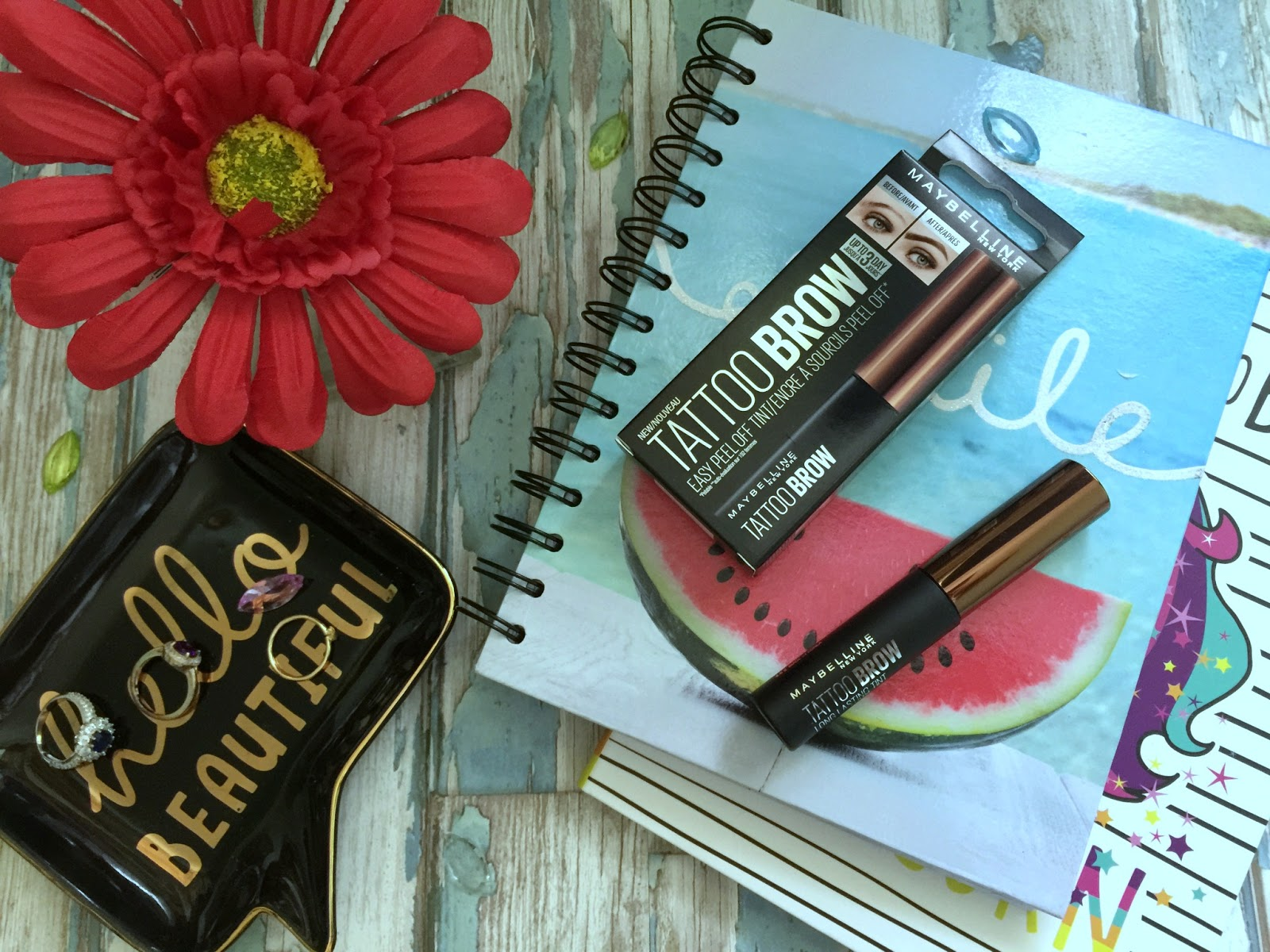 get natural looking brows with maybelline tattoo brow
