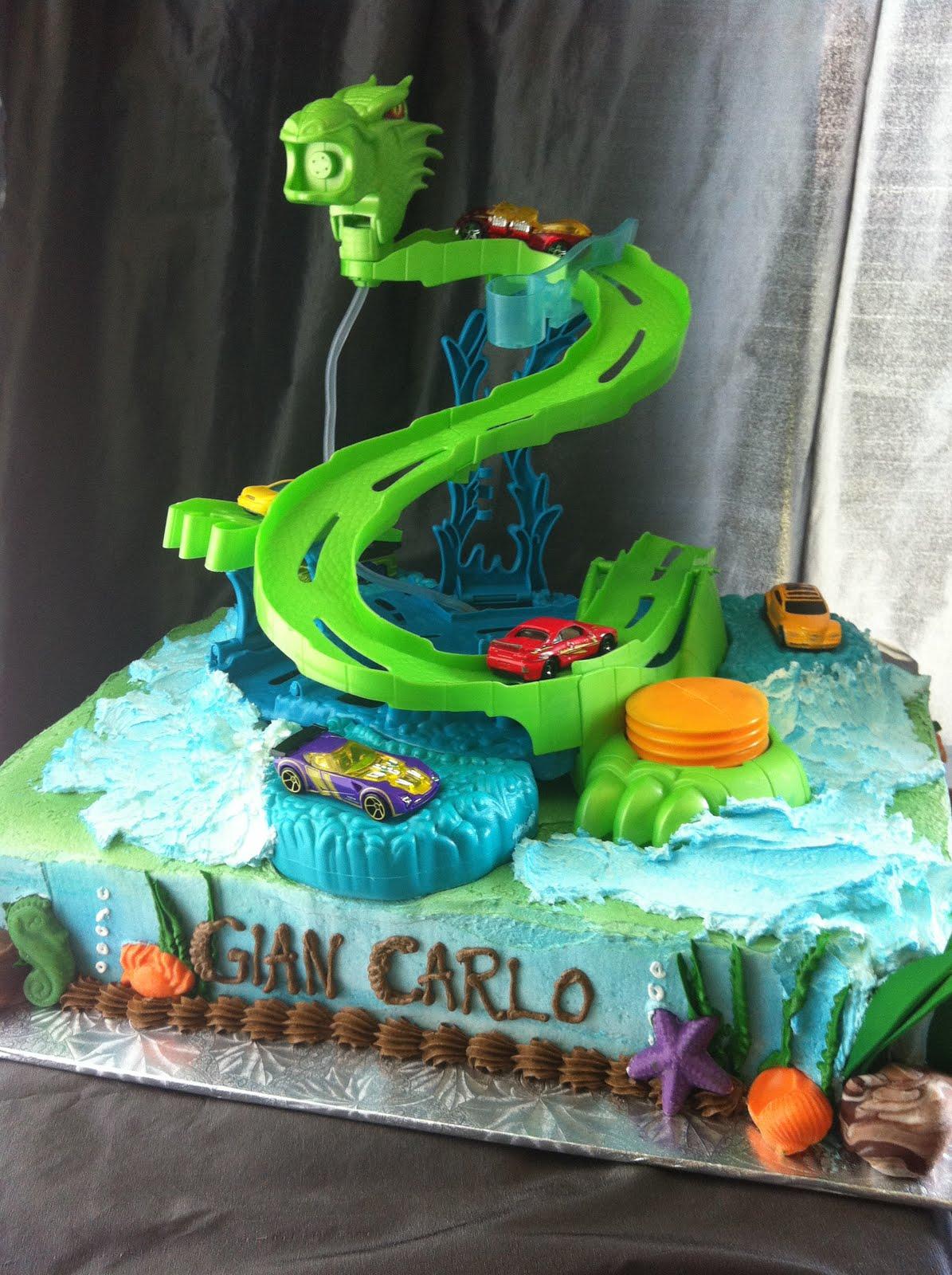 Jocelyn S Wedding Cakes And More Hotwheels Sea