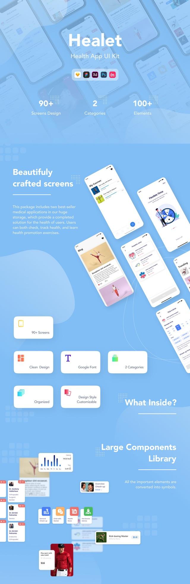 Health App UI Kit