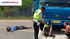 Lakalantas di Mestong, Vario Vs Truck Dua Orang Meninggal Dunia