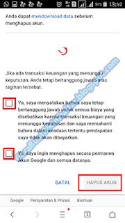 gmail secara permanen