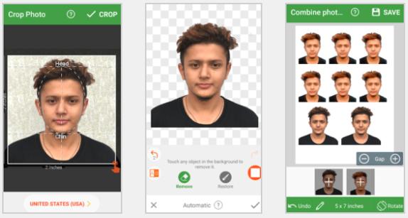 تطبيق Passport Photo Maker