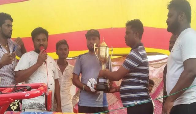 क्रिकेट खेलने वाले खिलाड़ियों का मनोबल बढ़ता है और बडे-बडे क्रिकेट टूर्नामेंट में जाकर क्षेत्र का नाम रौशन करते है:-विधायक डॉ राजेश कुमार