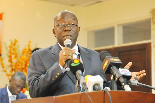 SSNIT Director-General , Dr. John Ofori Tenkorang