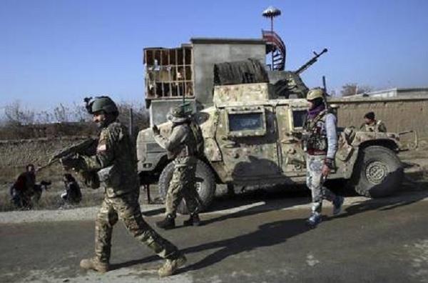 Rockets hit U.S. airbase in Afghan; no casualties