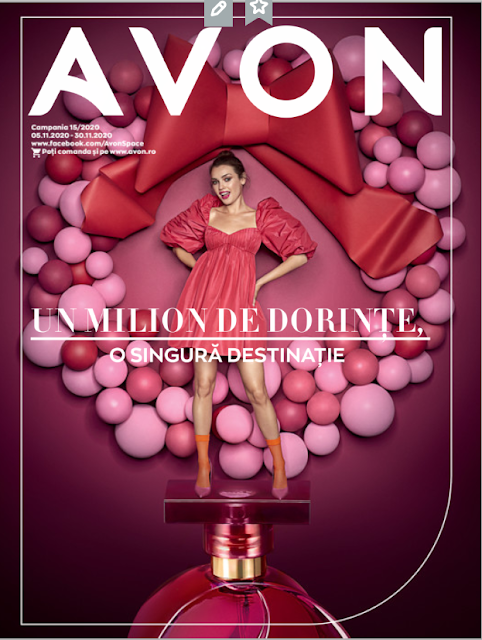 AVON Promotii + Catalog-Brosura  № 15  5-25.11 2020