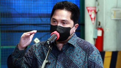 Utang PLN Rp500 Triliun, Erick Thohir: Tidak Ada Jalan Segera Disehatkan
