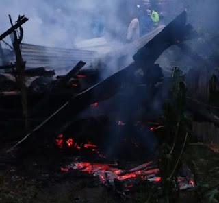 Musibah Kebakaran Rumah Di Tareran, Kerugian Capai Puluhan Juta Rupiah