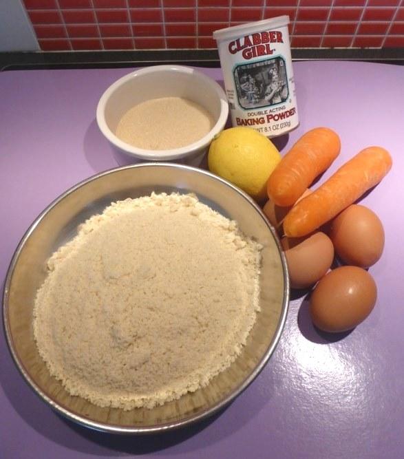 carrot cake sans gluten au citron