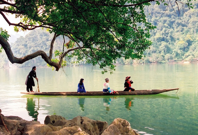 Participating spring festival on Ba Be lake – an exciting experience 3