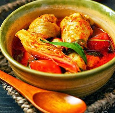 Resepi Asam Pedas Ayam Ringkas Dan Sedap