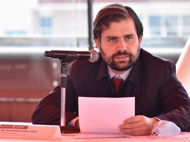 Alejandro Svarch Pérez es designado nuevo titular de Cofepris