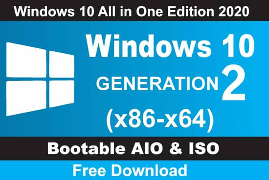 Window 10 All in One Edition 2020