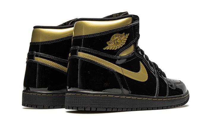 Air Jordan Black Metallic Gold Price
