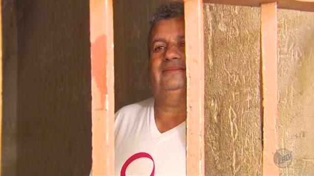 Vítor Elói, ex-prefeito de Santana da Vargem, é condenado a 15 anos de prisão (Foto: Reprodução EPTV/Erlei Peixoto)