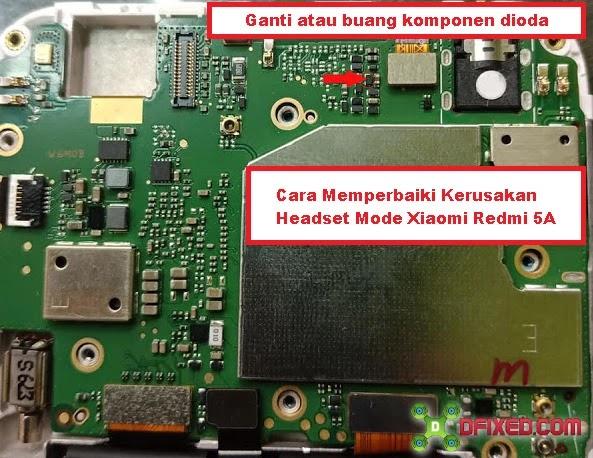 Cara Memperbaiki Kerusakan Headset Mode Xiaomi Redmi 5A
