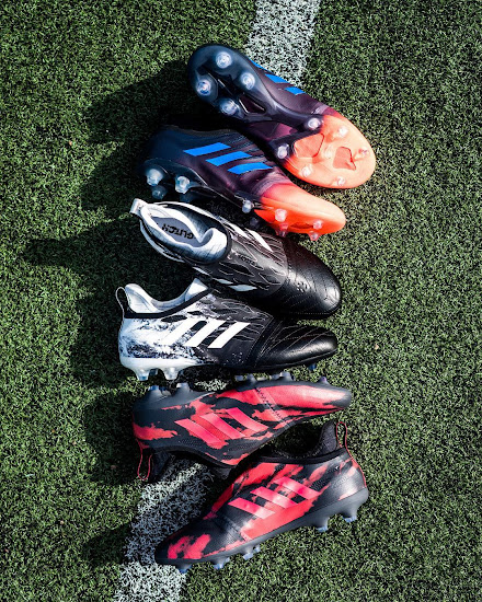 a772ce6a00c115 The black and white Adidas Glitch Stratino 2 Skin has a price of £100. The  interchangeable Adidas Glitch football boot is available in Germany and the  UK ...