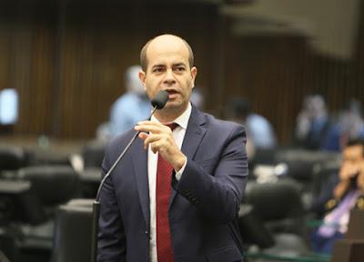 Deputado Evandro Araújo. Café com Jornalista
