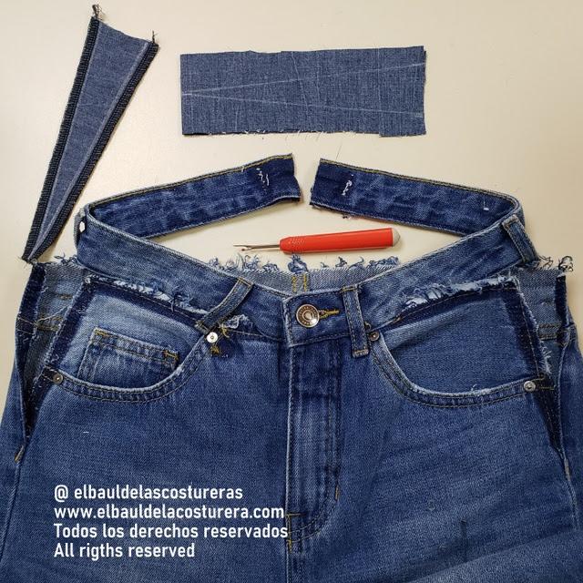 Cómo Aumentar La Cintura De Un Pantalón Vaquero