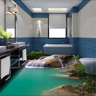 kamar mandi keren banget