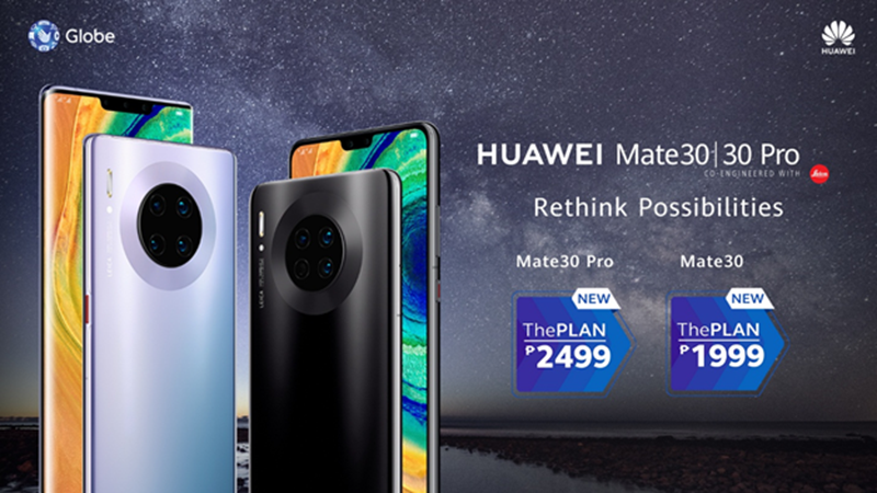 ThePlan for Mate 30 series