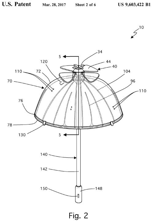 U.S. Patent 9,603,422 Figure 2
