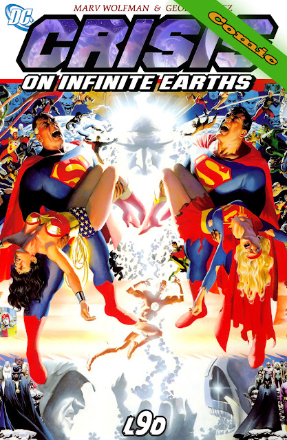 Crisis on infinite Earths - Portada