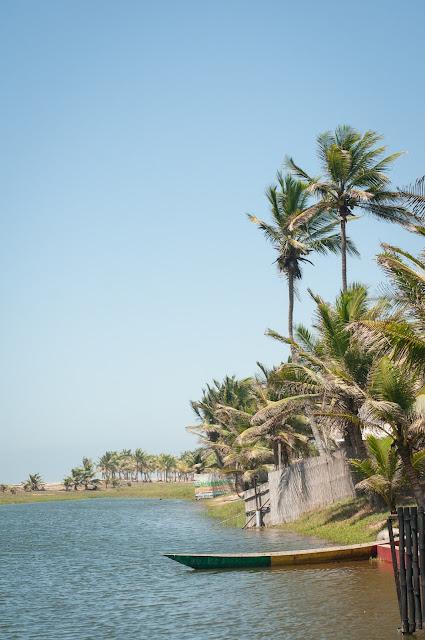 Morning in Dzita, Ghana