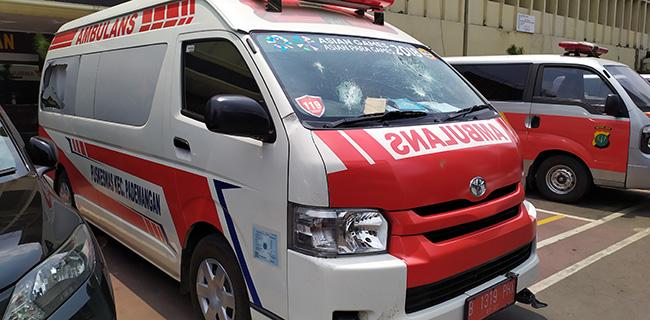 Polisi Akui Salah Karena Tuding  Ambulans Suplai Batu Untuk Demonstran