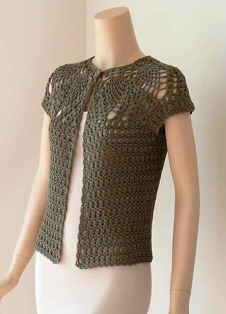 Como hacer una chaqueta de ganchillo para mujer
