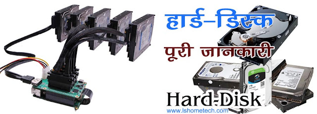 What is Hard Drive or Hard Disk and its main parts.