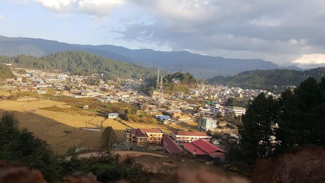 View of hapoli town