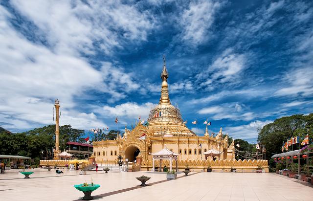 Taman Alam Lumbini tempat wisata di Medan yang wajib dikunjungi