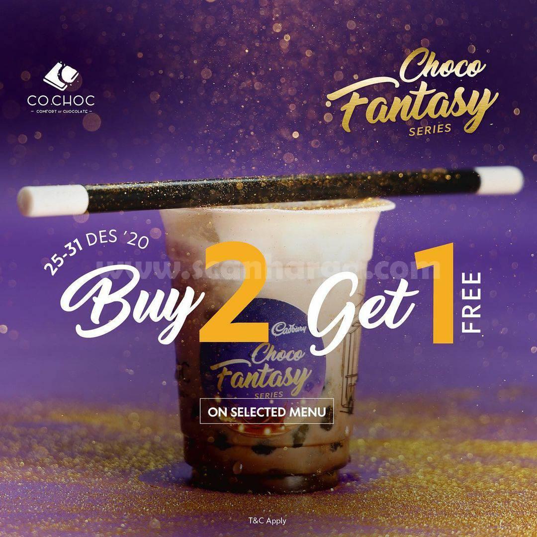 Promo CO.CHOC Paket Fantasy Buy 2 Get 1 Free