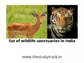 Wildlife sanctuaries in India for UPSC, mppsc, SSC bank exams