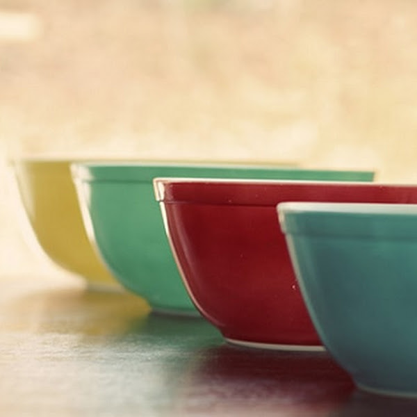 Colourful Plastic Kitchen Mixing Bowl for Baking # Cooking 4 Colours new~ DS;UK
