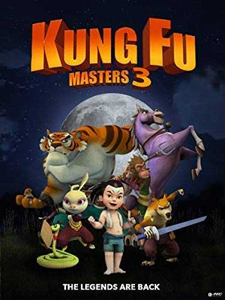 Kung Fu Masters 3 (2018) English 750MB WEB-DL ESubs 720p