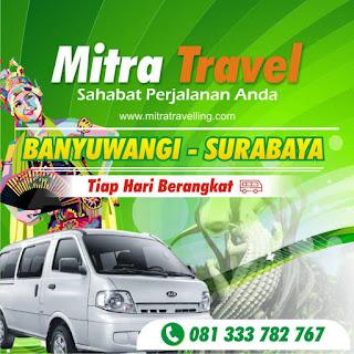 HARGA TIKET TRAVEL BANYUWANGI – SURABAYA (PP)