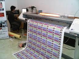 Proses cetak tali lanyard digital printing