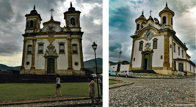 Igreja de São Francisco e Igreja do Carmo de Mariana