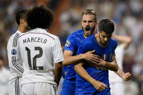 Chính Morata đã ghi bàn loại Real tại trận bán kết Champions League 2014/15