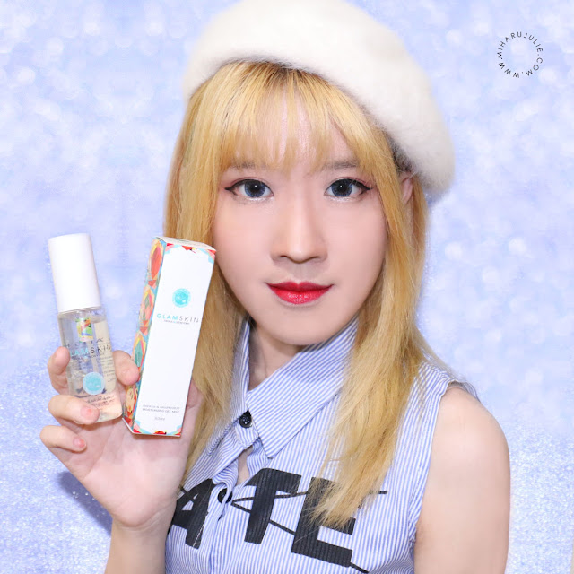 CHARIS Korean GLAMSKIN Moisturizing Gel Mist