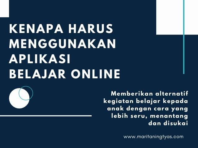 memilih aplikasi belajar online