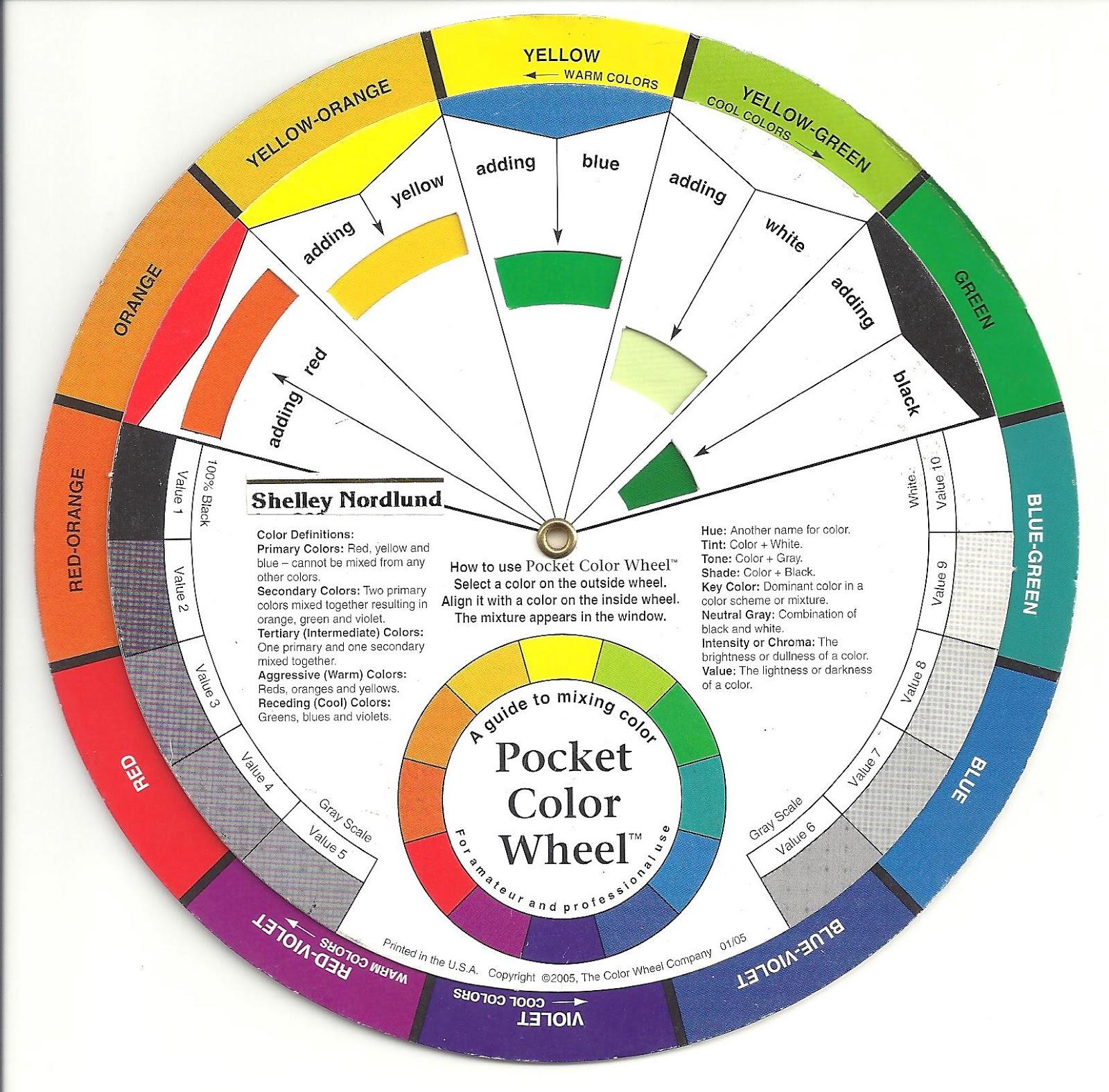 Color Psychology Cool Tertiary Hues