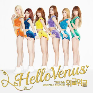 [Single] Hello Venus - 5th Digital Single 'Wiggle Wiggle' Mp3 full album zip rar 320kbps m4a