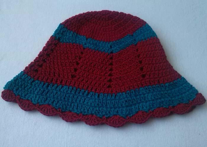 573ee8206f3 Crochet - Crosia Free Patttern with Video Tutorials  Crochet Zig Zag Hat
