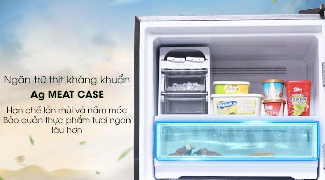 Tủ lạnh Panasonic Inverter 363 lít NR-BD418GKVN