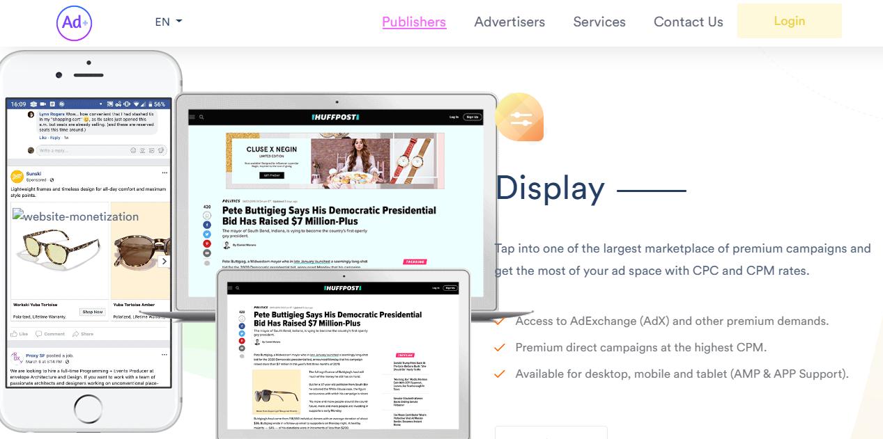 Cara Daftar Publisher Ad.Plus