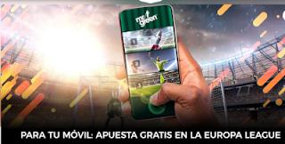 mrgreen apuesta gratis movil Europa League 26 noviembre 2020