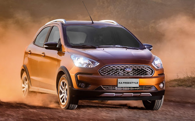 Novo Ford Ka FreeStyle 2019